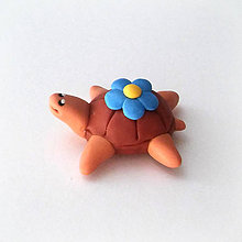 Hračky - Čokoládové želvičky na zákazku (s kvetom NA ZÁKAZKU) - 7077401_
