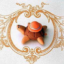 Hračky - Čokoládové želvičky na zákazku (s klobúčikom NA ZÁKAZKU) - 7077947_