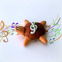 Hračky - Čokoládové želvičky na zákazku (hudobná NA ZÁKAZKU) - 7078869_