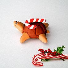 Hračky - Čokoládové želvičky na zákazku (vianočná NA ZÁKAZKU) - 7079570_