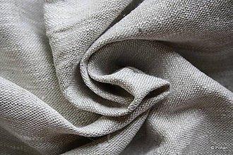 Textil - 100% Ľanové plátno hrubé - 7082276_