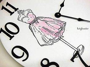 Hodiny - hodiny Baletka - 7082997_