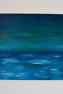 Obrazy - svitanie búrky - 7083354_