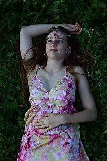 Ozdoby do vlasov - Girl with tears - fantasy vlasová ozdoba - 7083426_