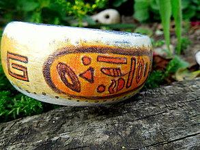 """Náramky - Drevený náramok """"Egypt"""" - 7083059_"""