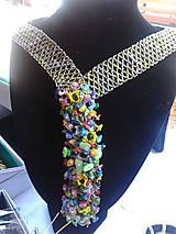 Náhrdelníky - kravata - 7081607_