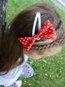 Ozdoby do vlasov - pukačky - mašľa - 7080936_