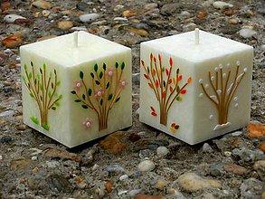 Svietidlá a sviečky - Štyri ročné obdobia - 7083537_