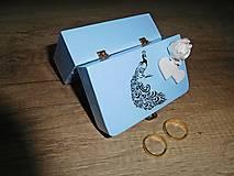 krabička na svadobné prstienky 3