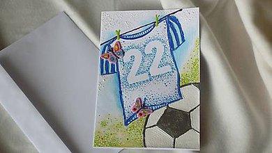 Papiernictvo - Pohľadnica pre futbalistu A5 - 7080418_