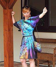 Textil - Panel dizajnový Crystal Kvet netopier šaty - 7081471_