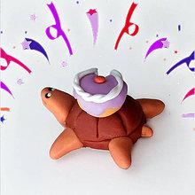 Hračky - Čokoládové želvičky na zákazku (oslavuje :-D NA ZÁKAZKU) - 7081177_