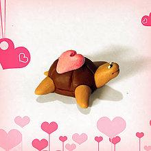 Hračky - Čokoládové želvičky na zákazku (so srdiečkom NA ZÁKAZKU) - 7082659_