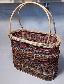 Nákupné tašky - Košík na kúpalisko, a na trh - 7083867_