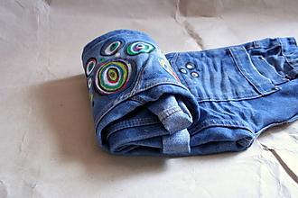 Nohavice - farebná sódovka - 7085032_