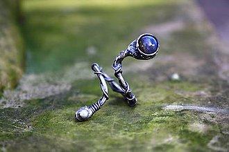 Prstene - Cínovaný prsteň - Labradorit - 7085917_