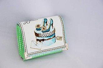 Peňaženky - Dievčenská peňaženka Glamour - 7084081_