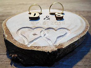 Prstene - vintage svadba/vankúšik pod svadobné prstene III - 7084018_