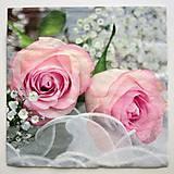 Papier - Servítka S12-Svadobné ruže - 7086738_