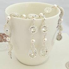 Sady šperkov - Diamond Bridal midi Set - 7085746_