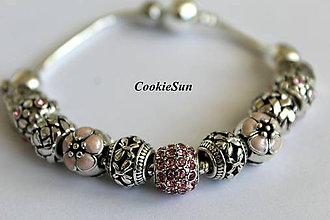 Náramky - Náramok Pandora Rosaline Roses - 7086802_