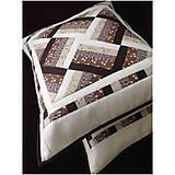 Úžitkový textil - Elegantná patchworková obliečka 2 - 7087112_
