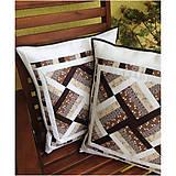 Úžitkový textil - Elegantná patchworková obliečka 1 - 7087124_