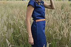 Šaty - Modré šaty - 7087180_