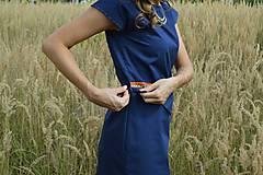 Šaty - Modré šaty - 7087181_