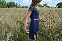 Šaty - Modré šaty - 7087182_