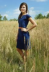 Šaty - Modré šaty - 7087183_