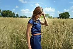 Šaty - Modré šaty - 7087185_