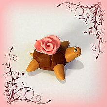 Hračky - Čokoládové želvičky na zákazku (s ružičkou pusinkou NA ZÁKAZKU) - 7083918_