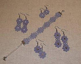 Sady šperkov - Set náušnice a náramok - 7088975_
