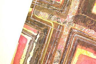 Obrazy - NÁDEJ - obraz maľovaný na hodvábe. - 7091148_