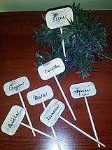 Tabuľky - Zápich bylinky - 7088302_