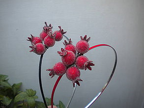 Ozdoby do vlasov - Šípky červené ...čelenka - 7090875_