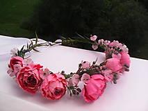 """Ozdoby do vlasov - Kvetinový venček do vlasov """"...v botanickej záhrade..."""" - 7088980_"""