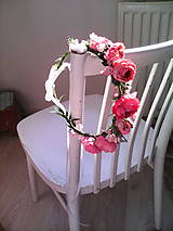 """Ozdoby do vlasov - Kvetinový venček do vlasov """"...v botanickej záhrade..."""" - 7088984_"""