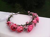 """Ozdoby do vlasov - Kvetinový venček do vlasov """"...v botanickej záhrade..."""" - 7088988_"""