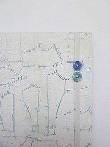 Papiernictvo - Zápisník A5 - krajčírske strihy - 7089755_