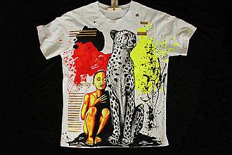 Tričká - Maľované tričko Loyalty - 7091063_