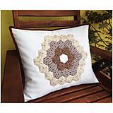 Úžitkový textil - Romantická patchworková obliečka 1 - 7089814_