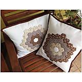 Úžitkový textil - Romantická patchworková obliečka 2 - 7089840_