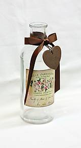 Nádoby - Vintage fľaša - 7091142_