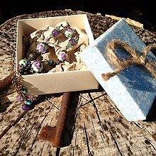 Sady šperkov - Vintage náramok s jadeitom - 7093628_