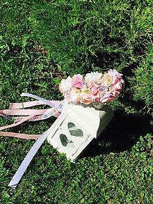 Ozdoby do vlasov - Svadobná parta na želanie - 7094145_