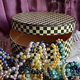 Krabičky - OKRÚHLA krabica - 7093071_