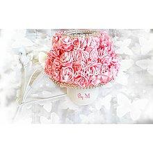 Svietidlá a sviečky - Mala nočná cukríková  lampička - 7092527_