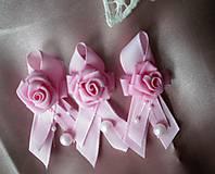 Kytice pre nevestu - Gratulačná kytica ..aj  v bielom - 7093020_